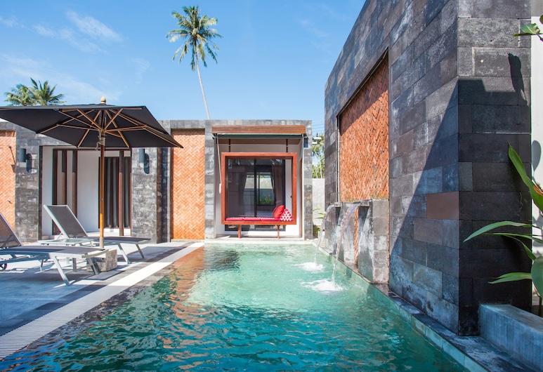 豐富蘇梅奢華泳池別墅酒店, 蘇梅島, 4 Bedroom Private Pool Villa, 陽台
