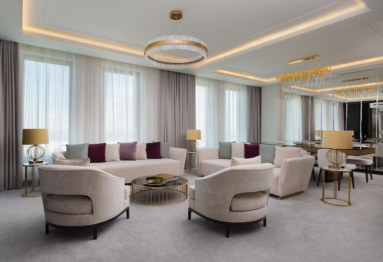 LOTTE Hotel Samara, Samara, Svit Royal, Vardagsrum