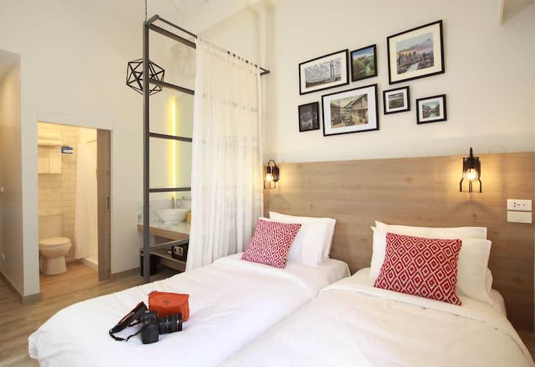 Lub d Philippines Makati - Hostel, Makati, Deluxe dvokrevetna soba, Soba za goste