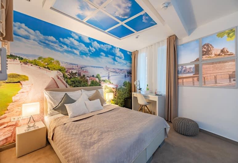 Bp Design Hotel & Apartman, Budapeszt, Pokój standardowy, Łóżko king, dla niepalących, Pokój