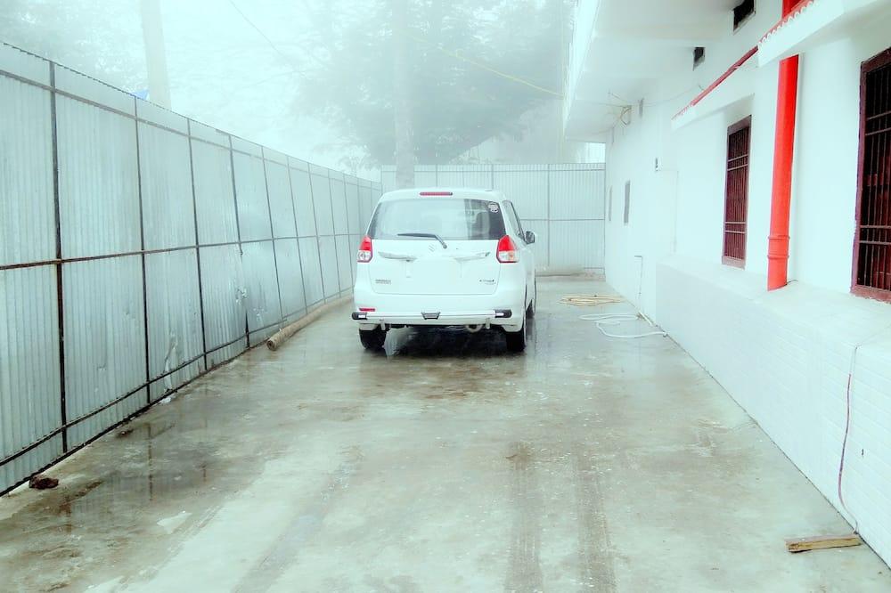 Autocamper-/lastbilsparkering