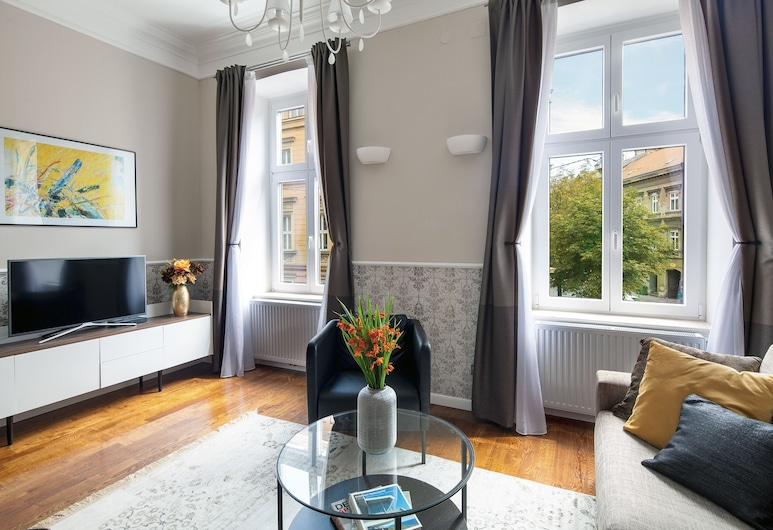 Markiz Luxury Apartments, Zagreb, Rococo Apartment, Living Area
