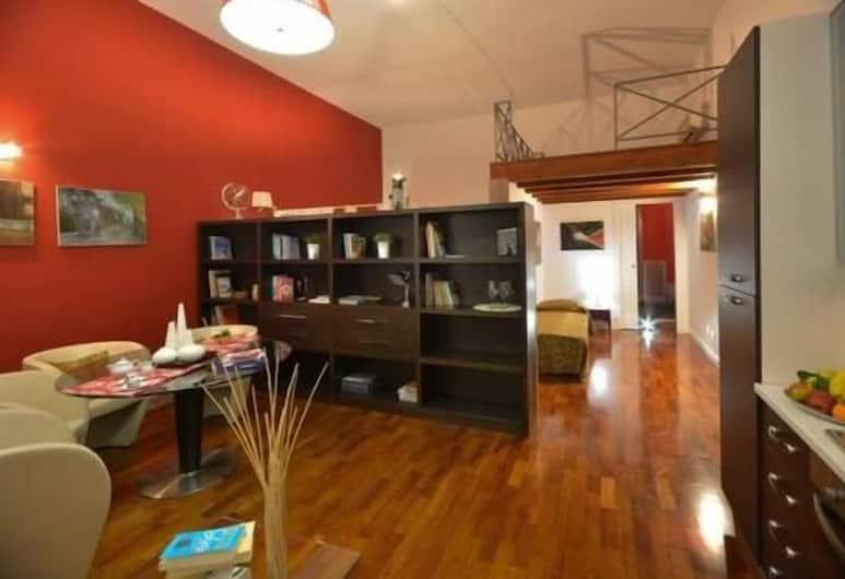 Casa Bella Pantheon, Rome, Apartment, 2 Bedrooms (Orione), Living Area
