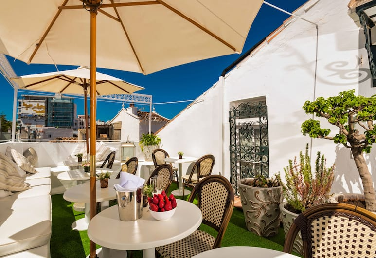The Town House, Marbella, Terras