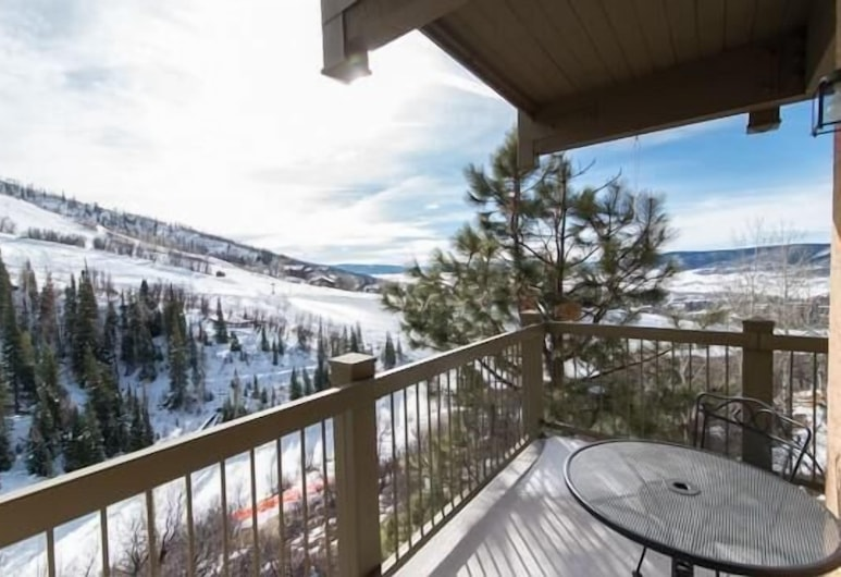 311 Storm Meadows Club B Apartment 2, Steamboat Springs, Apartment, Balkon