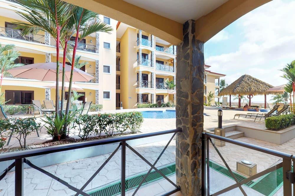 Comfort-Apartment, 2Schlafzimmer, Nichtraucher - Terrasse/Patio