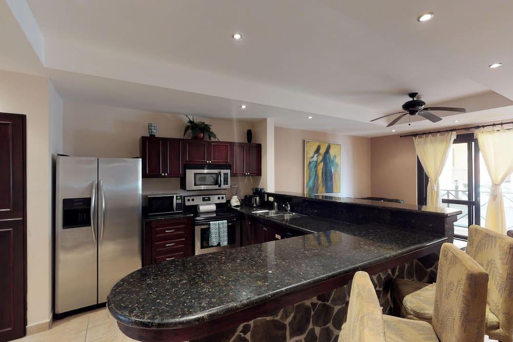 Comfort-Apartment, 2Schlafzimmer, Nichtraucher - Essbereich im Zimmer