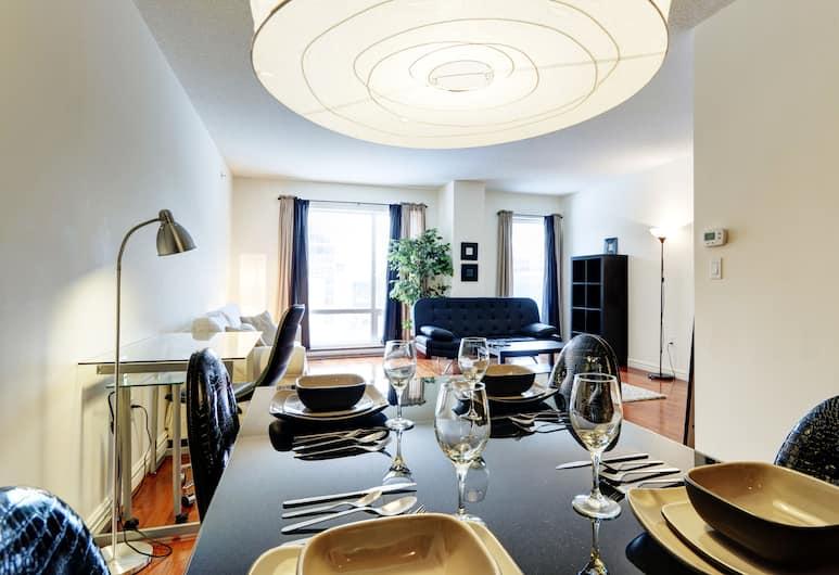 Bleury Furnished Suites by Hometrotting, Montreal, Tetőtéri szoba, Nappali rész