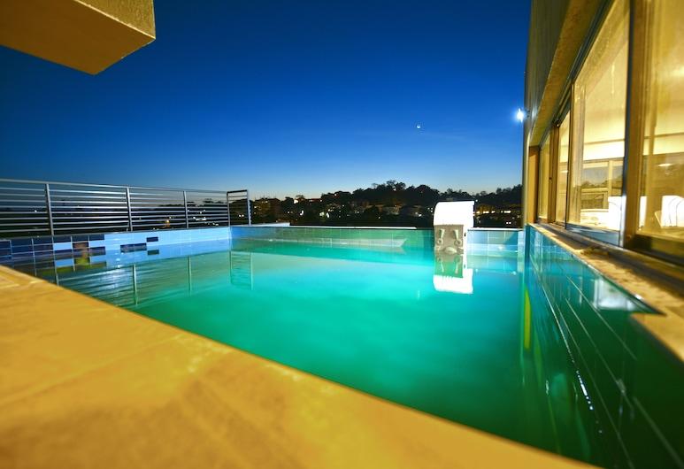 K 酒店, 恩德比, 天台泳池
