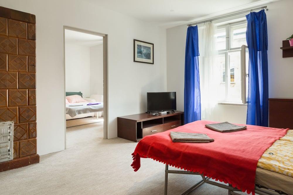 舒適公寓, 2 間臥室, 廚房, 城市景 - 客廳