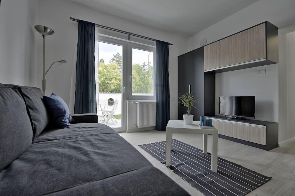 Premium Διαμέρισμα, 1 Υπνοδωμάτιο, Βεράντα - Περιοχή καθιστικού