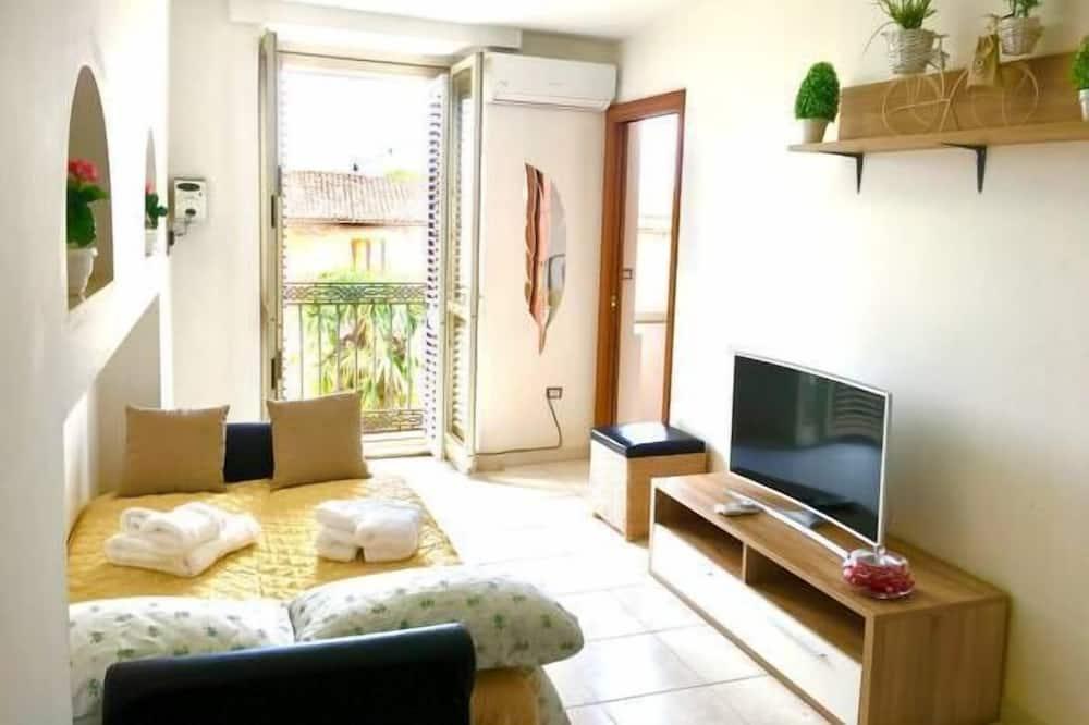 Lägenhet - 2 sovrum - balkong - utsikt mot staden - Vardagsrum