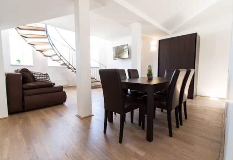 Leonhard Apartments Vienna, Vienna, Apartment, 1 Bedroom, City View, In-Room Dining