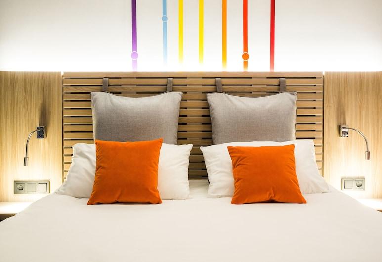 ibis Styles Warszawa City, Варшава, Стандартный двухместный номер с 1 двуспальной кроватью, 1 двуспальная кровать, Номер