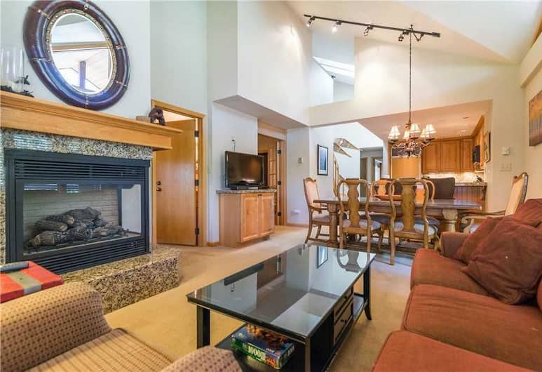 1310 Trappeur's Lodge, Trappeur's Crossing Apartment 3, Steamboat Springs, Apartment, Wohnbereich