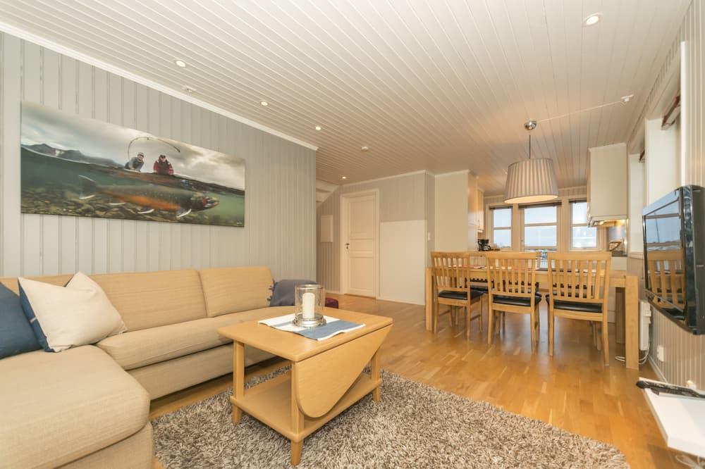 Apartamento, terraza - Sala de estar