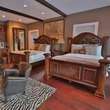 Δωμάτιο, 2 Queen Κρεβάτια - Περιοχή καθιστικού