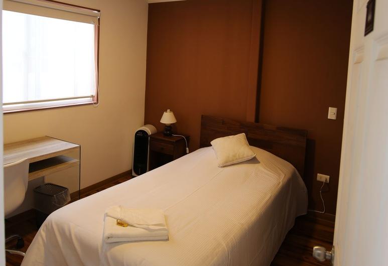 Don Alonso Apart Hotel, Antofagasta, herbergi - 1 einbreitt rúm, Herbergi