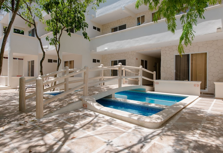 Casa del Árbol Condo, Playa del Carmen, Piscina infantil