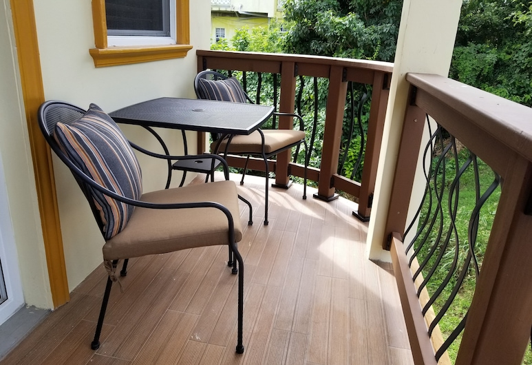 Keep Cool Guesthouse, Gros Islet, Deluxe King Room, Balcony