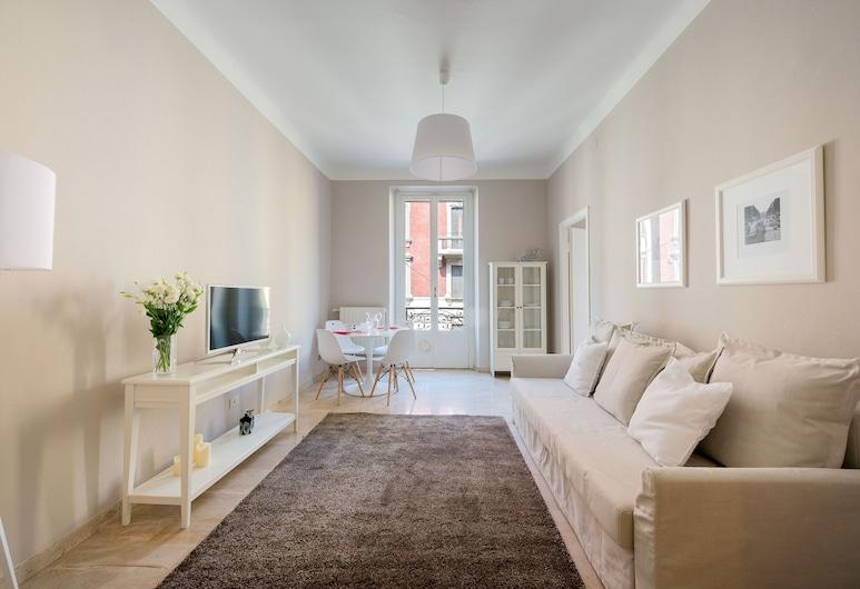 Be Apartments Menotti 6, Milan, Apartment, 1 Bedroom, Ruang Tamu