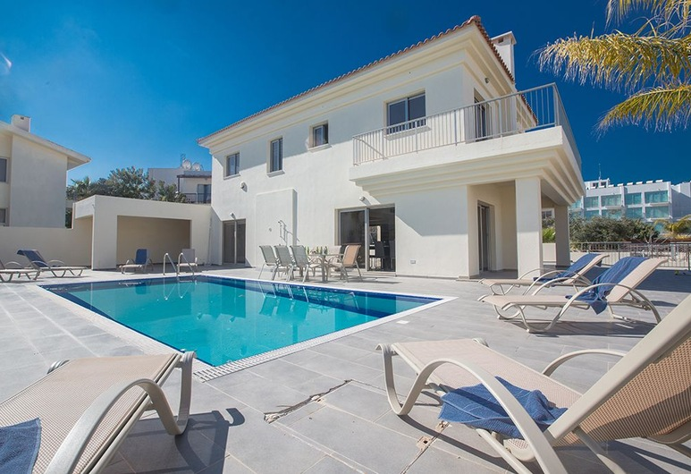 Protaras Villa Theodora 1 - CHG, Protaras, Villa, 4 Bedrooms, Private Pool, Terrace/Patio