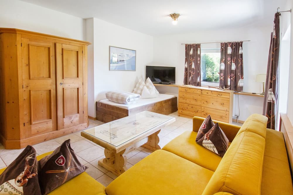 Apartmán, 1 spálňa, terasa (Sonnenstein) - Obývačka