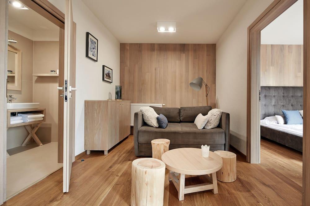 Studijas tipa luksusa ģimenes numurs - Dzīvojamā zona