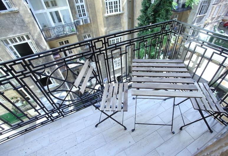 Dfive Apartments - Heroe's Expat, Budapeštas, Heroe's Expat Apartment, Balkonas