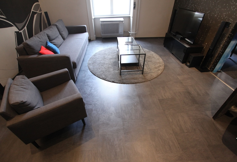 Dfive Apartments - Galactic, Budapest, Galactic Apartment, Rum