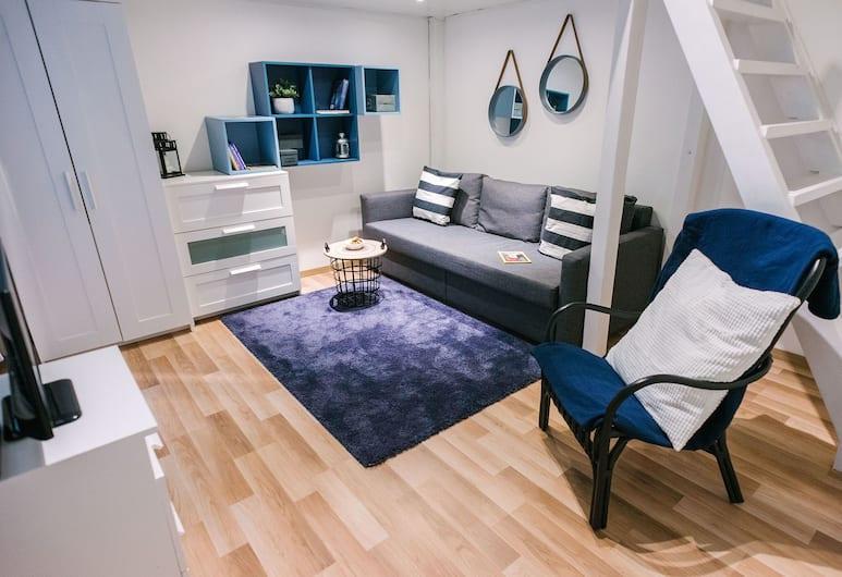 Dfive Apartments - Golden Hand, Βουδαπέστη, Καθιστικό