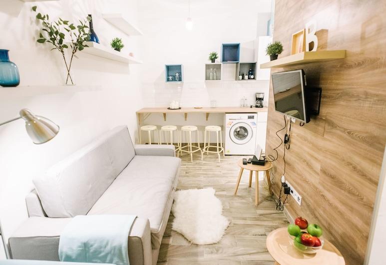 Dfive Apartments - Sziv, Βουδαπέστη, Diamond Apartments A, Περιοχή καθιστικού