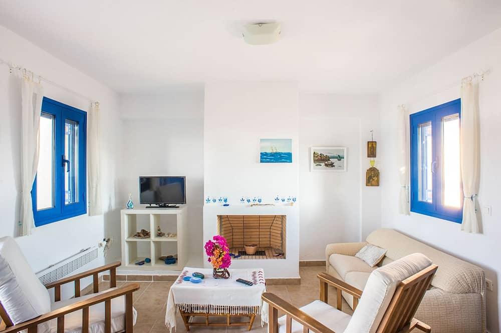 Maison, 2 chambres, vue mer - Coin séjour