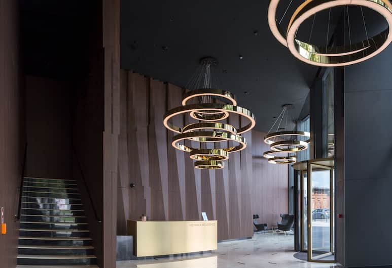 Chopin Apartments Mennica, Βαρσοβία, Εσωτερικοί χώροι