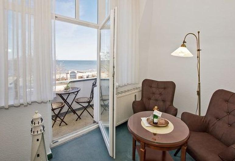 皇帝海灘別墅飯店, 黑靈斯多夫, 舒適雙人房, 客廳