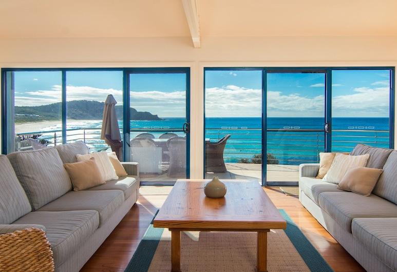 Clifton Beach House, Boomerang Beach, Hus, Stue