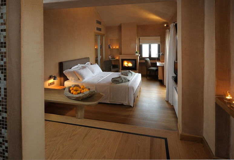 Valeni Boutique Hotel, Volos, Honeymoon Double Room, Guest Room