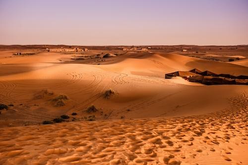 露宿沙漠飯店/