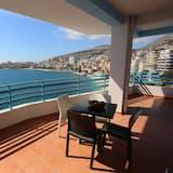 Külaliskorter, 2 magamistoaga, rõduga, vaade merele - Terrass
