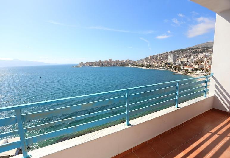 Serxhio Apartments, Sarandë, Apartment, 2 Bedrooms, Balcony, Sea View, View from room