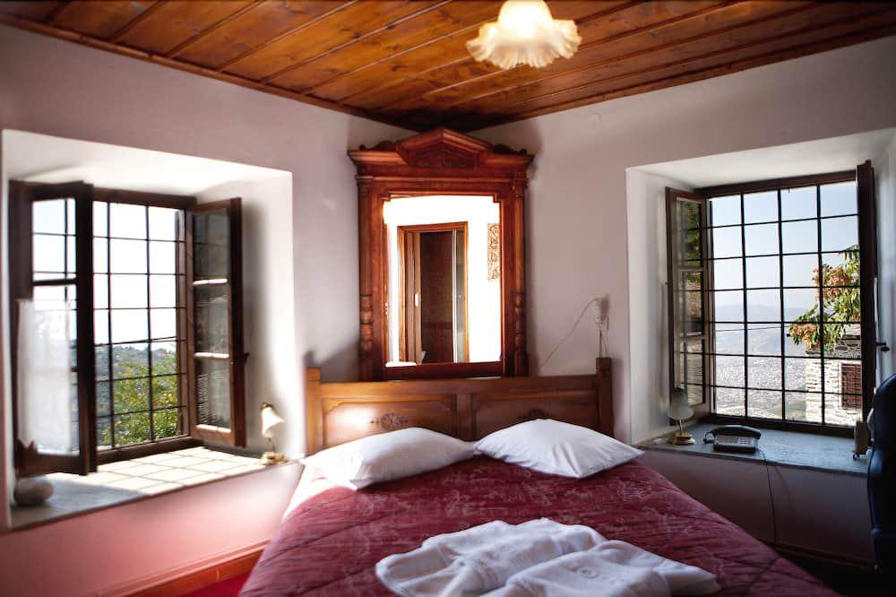 Osnovna dvokrevetna soba, pogled na more - Soba za goste