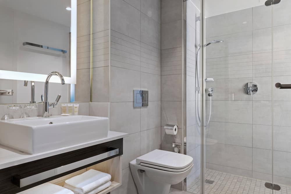開放式客房, 1 張加大雙人床, 非吸煙房 (Studio Apartment) - 浴室