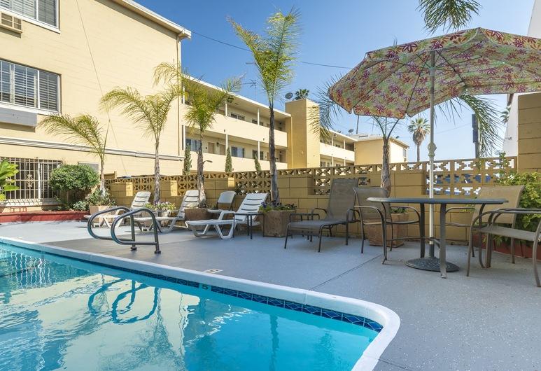 Hotel Hwood, Los Angeles, Utendørsbasseng