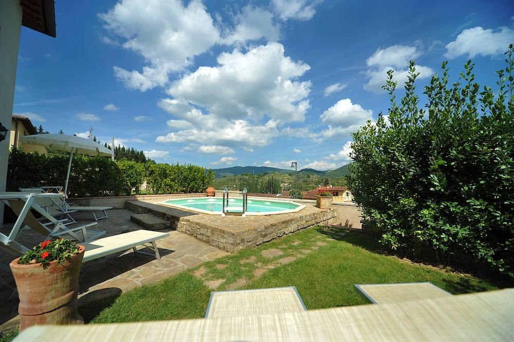 Villa Confort, 3 chambres, piscine privée, vue jardin (T) - Terrasse/Patio