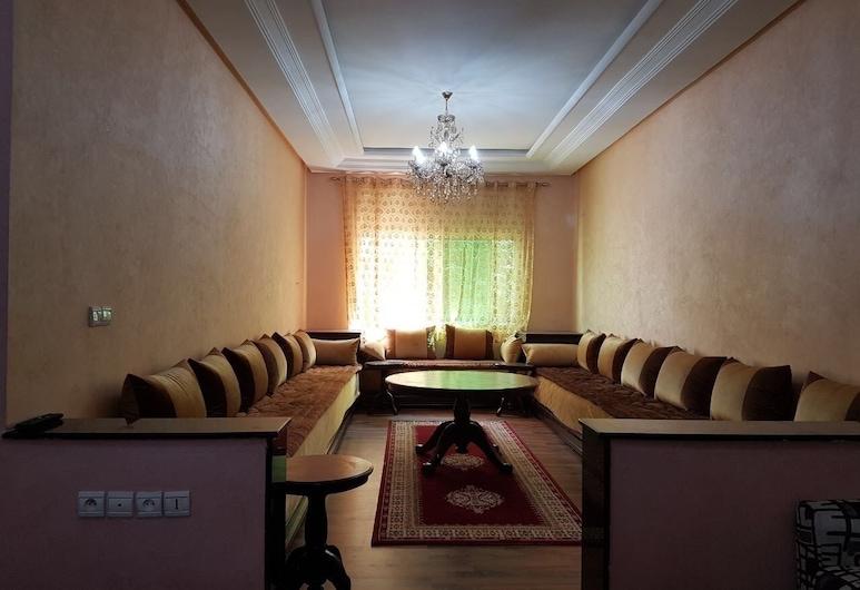 市中心 3 客房菲斯法爾公寓飯店, 非斯, 公寓, 3 間臥室, 客廳