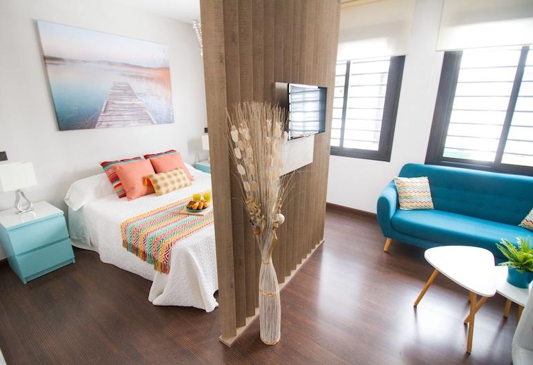 Pretty Studio Dos Aceras by La Recepcion, Málaga, Studija, 1 standartinė dvigulė lova, Svetainės zona