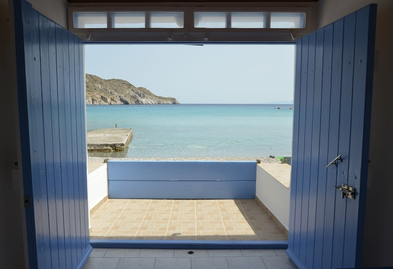 Erginas Boat House, Milos, House, 1 Bedroom, Sea View, View from room