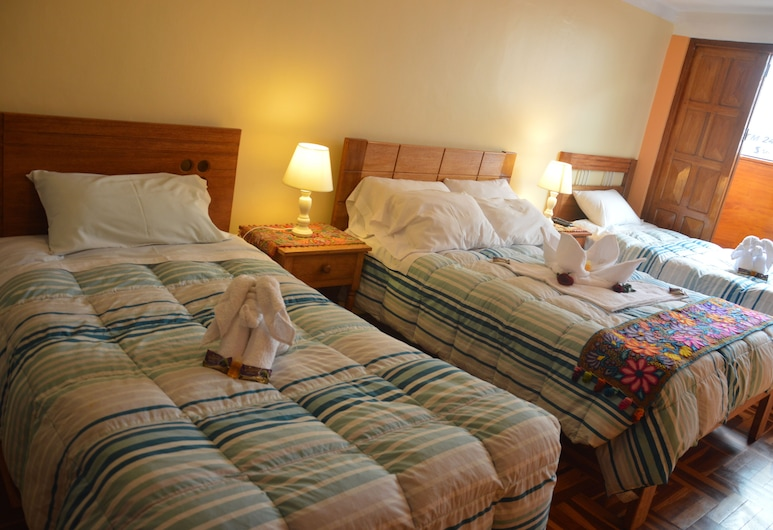 Hostal Wasichay, Cuzco, Vierbettzimmer, Zimmer