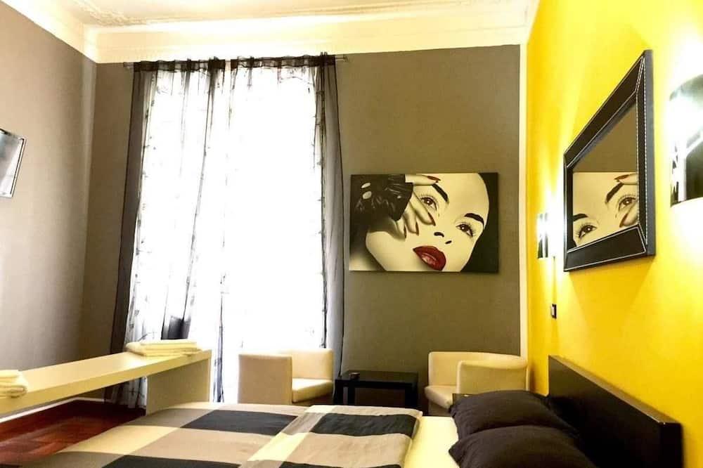 غرفة مزدوجة - بحمام مشترك - غرفة نزلاء