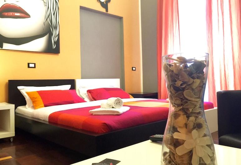 B&B G&G, Rome, Tweepersoonskamer, gemeenschappelijke badkamer, Kamer